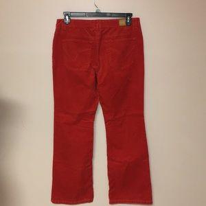 Tommy Hilfiger Pants - Tommy Hilfiger corduroy boot cut low rise pants 12